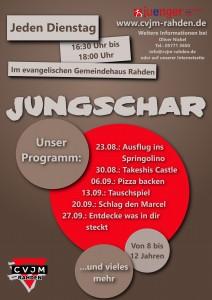 Programm Flyer 2016-09