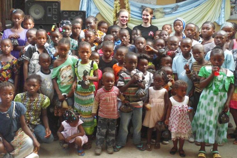 Die Kinder Gruppe des YMCA Bo