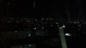 Freetown bei Nacht